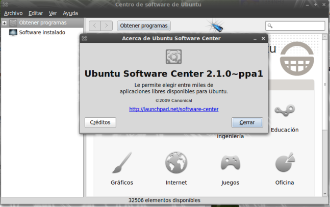 Actualizar el software-center de ubuntu